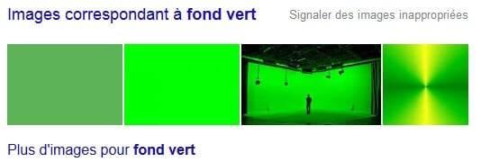 Images Fond vert Google