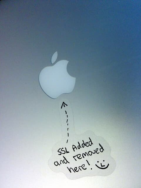 SSL Apple
