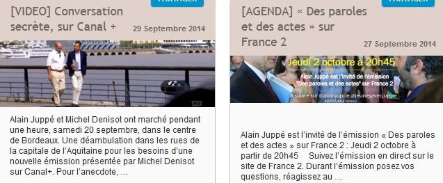 Alain Juppé télévision