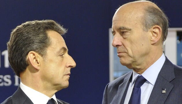 Regard Juppé Sarkozy