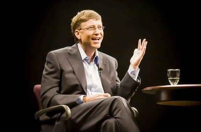 Bill Gates et les relations publiques