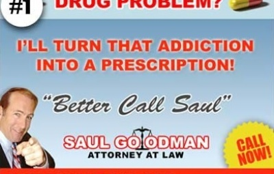 Annonce flyer avocat Saul Goodman