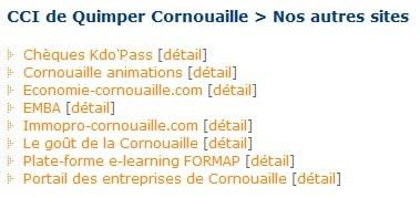 Autres sites CCI