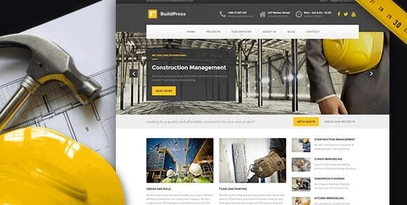 Exemple de site design