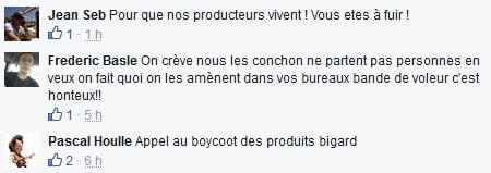Appel boycott BIGARD