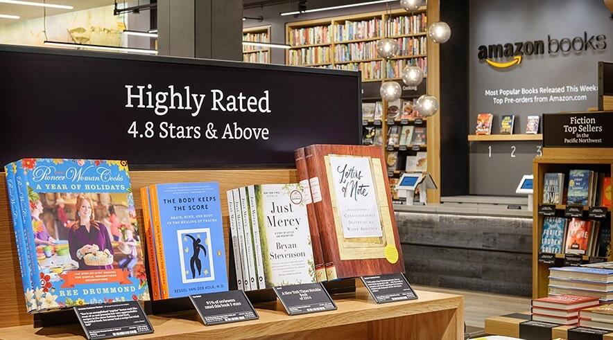 Expérience boutique livre Amazon