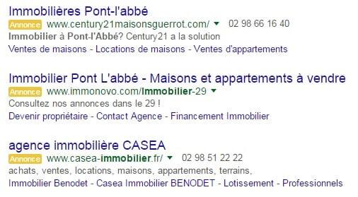 Adwords pont l abbé