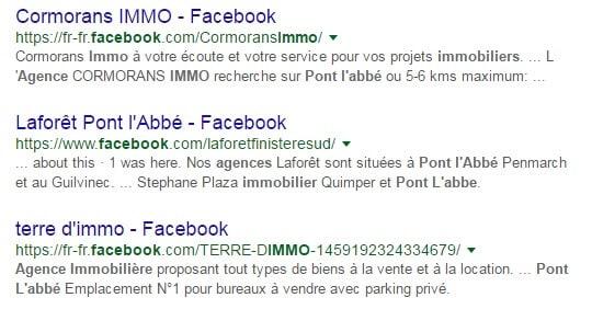 Agence immobiliere pont l abbé Facebook