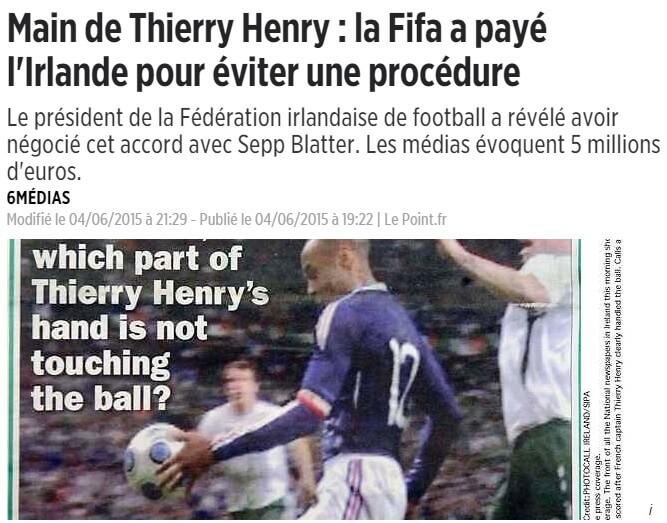 5 millions main de Henry