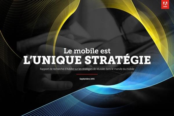 Etude ADOBE stratégie mobile
