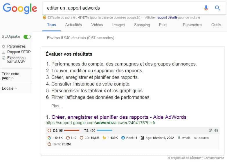 position-zero-editer-un-rapport