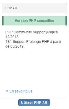 Passage au PHP 7.0