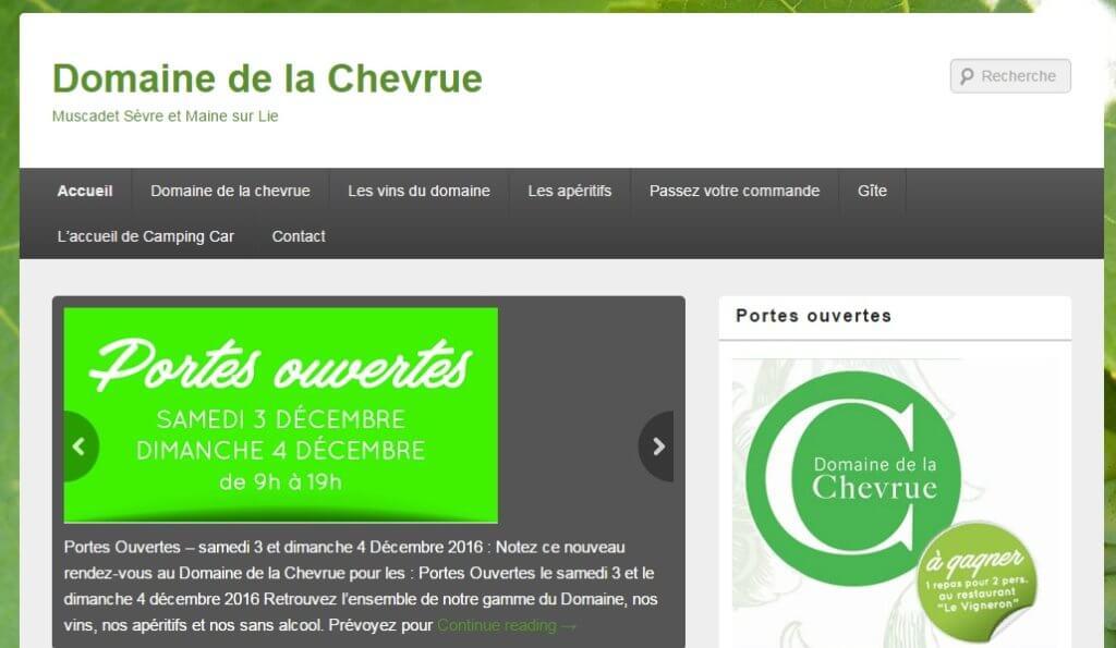 Site Actuel La Chevrue