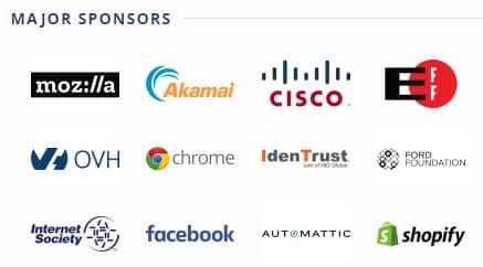 Sponsors Lets Encrypt