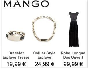 Publicité Esclave Mango