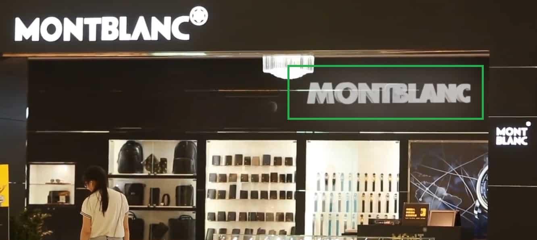 Hologramme 3D boutique Mont Blanc