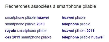 Recherches associées smartphone pliable