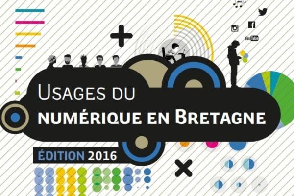 Usages du numérique en Bretagne