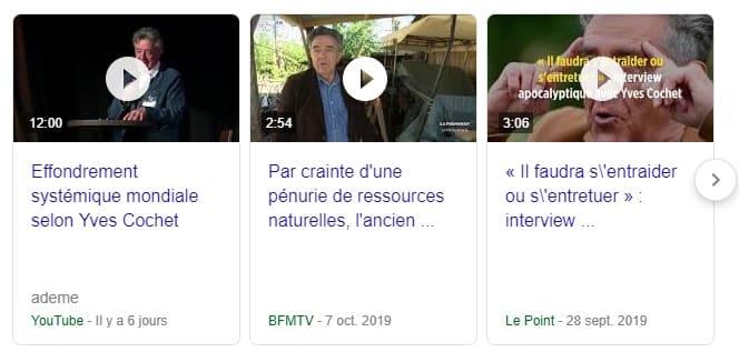 Effondrement mondial Yves Cochet