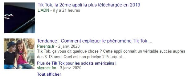 Explosion Phénomène Tik Tok Webmarketing