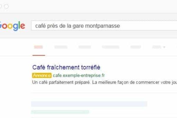 Achat mots clés Google