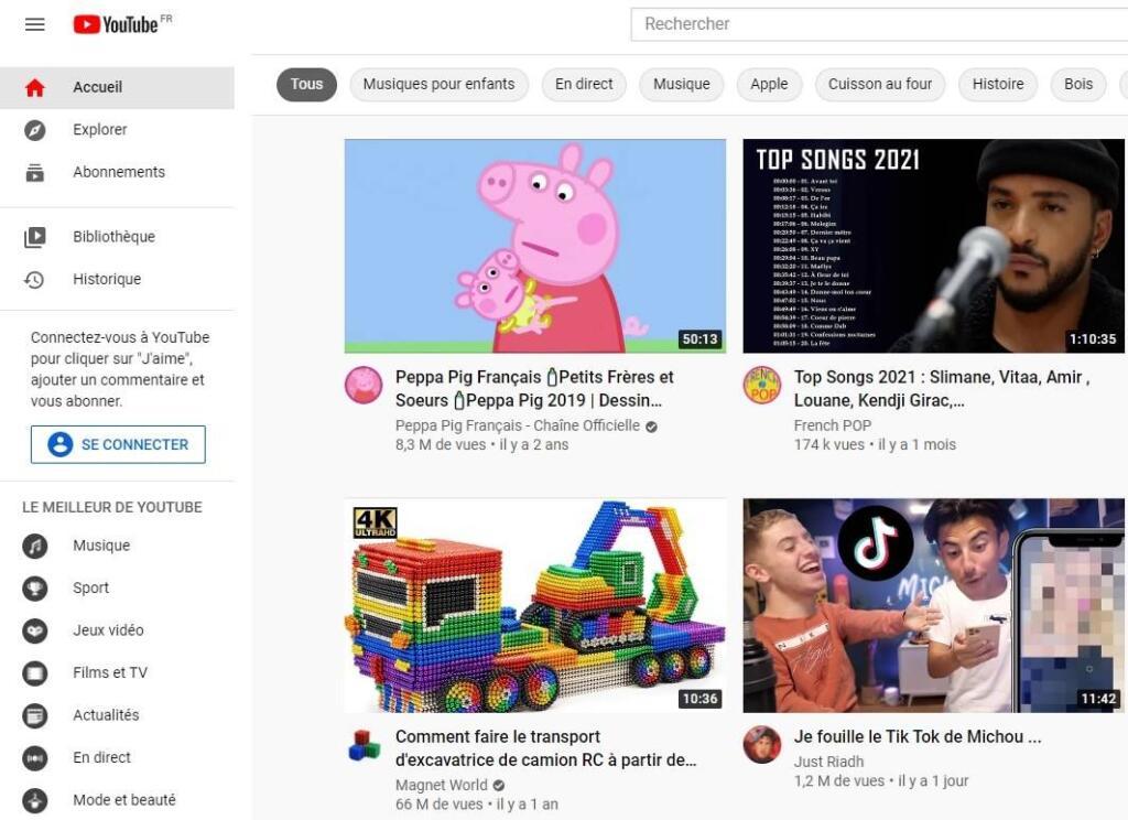 Faire plus de vues Youtube